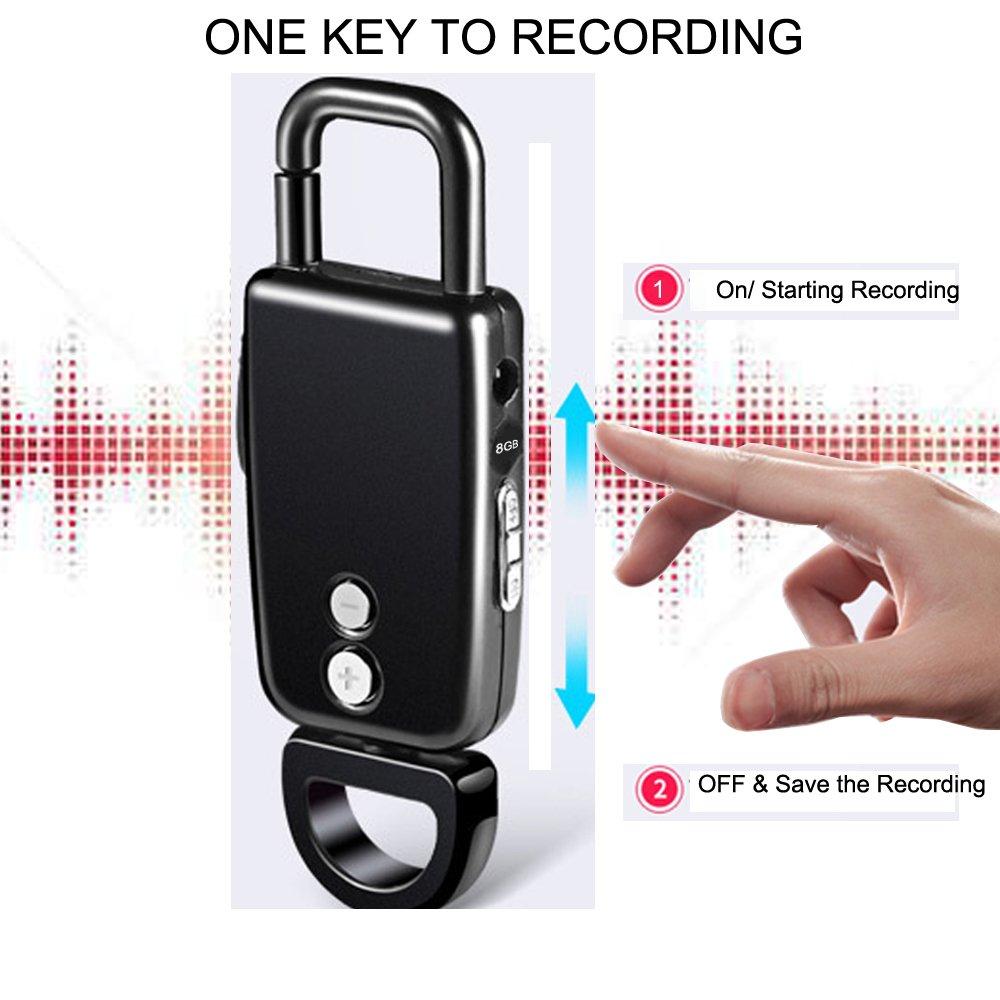 Llavero Grabador de Voz, baivon 4 en uno (grabación, U disco ...