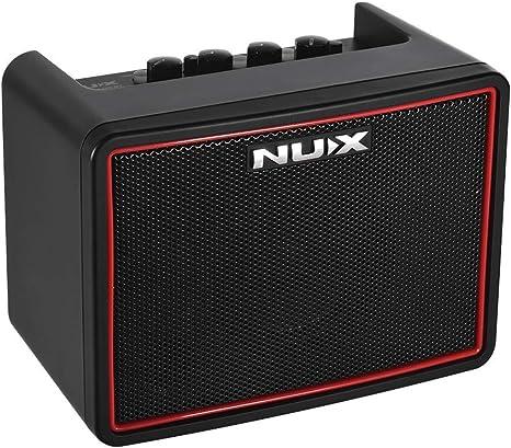 Muslady NUX - Amplificador para guitarra eléctrica, 3 W, 3 canales ...