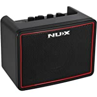 JJmooer NUX Mighty Lite BT Mini Desktop Electric Guitar Amplifier 3W Amp 3 Channels Built-in Delay Reverb Effects 9 Drum Patterns Metronome Tape Tempo