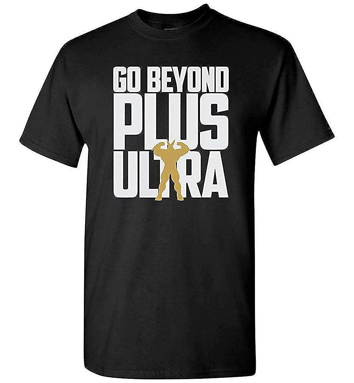 PEGGYNCO My Hero Academia Shirt Go Beyond Plus Ultra Tee Mens//Unisex
