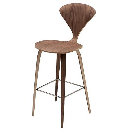 Marvelous Amazon Com Kathy Kuo Home Regan American Natural Walnut Beatyapartments Chair Design Images Beatyapartmentscom