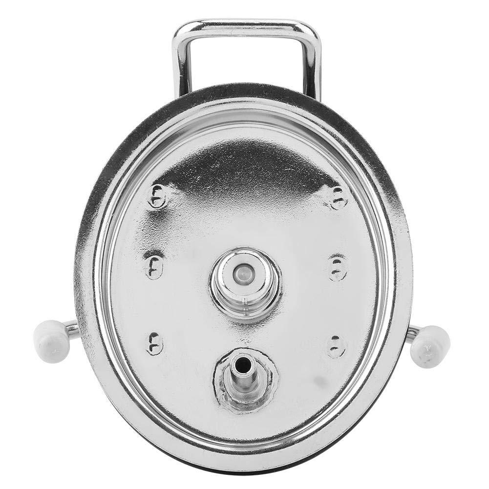 Akozon Homebrew Cornelius Style Keg Coperchio per barilotto con pietra di diffusione da 0,5 micron
