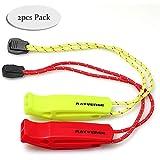 RAYVENGE Safety Whistle with Lanyard for Boating Hiking Kayak Emergency Survival Life Vest Rescue Signaling
