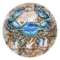 Juego de posavasos de gres de Thirstystone, Blue Crab