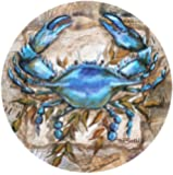 Thirstystone Stoneware Coaster Set, Blue Crab