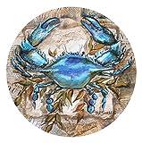 Thirstystone Stoneware Coaster Set, Blue Crab
