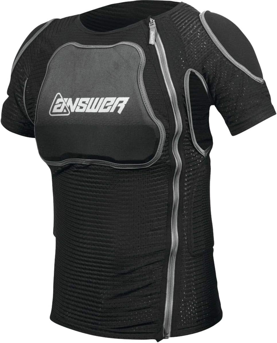 Small Black Answer Apex Short Sleeve Roost Guard