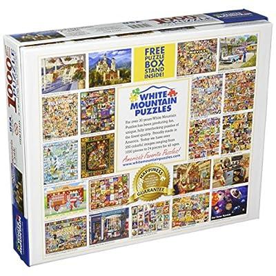 White Mountain Puzzles Neuschwanstein Castle - 1000 Piece Jigsaw Puzzle: Toys & Games