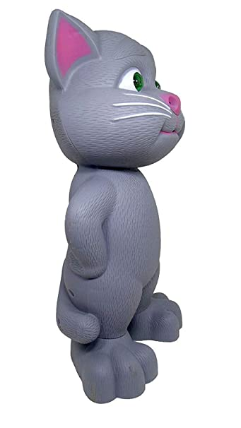 Shreeja Collections AI Touch Sensitive Flashing Eyes Record and Play Talking Tom Toy