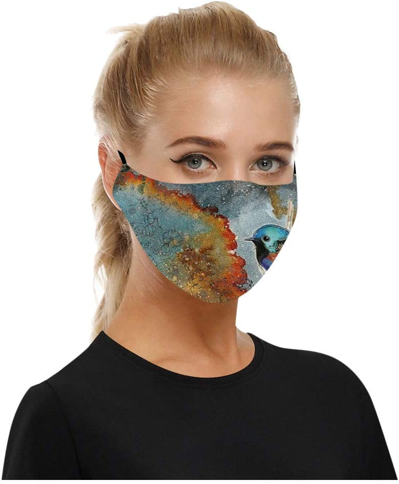 Washable Mouth Covering Dust Cotton Dust Proof Face Covering Reusable Cotton Fabric Dust Covering