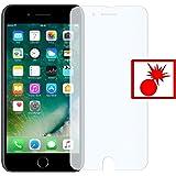 """2 x Slabo pellicola protettiva di schermo alta protezione per iPhone 7 / iPhone 8 """"Shockproof"""" Antirottura (pellicole rimpicciolite, a causa della convessità del display) - MADE IN GERMANY"""