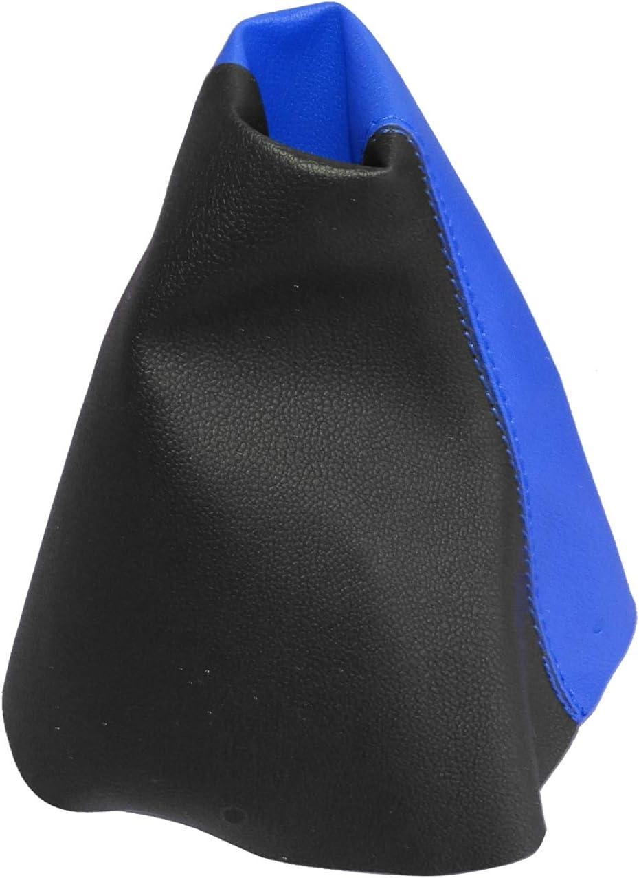 gris fonc/é Soufflet de levier de vitesse en simili cuir avec couture//surpiq/ûres couleurs variables AERZETIX