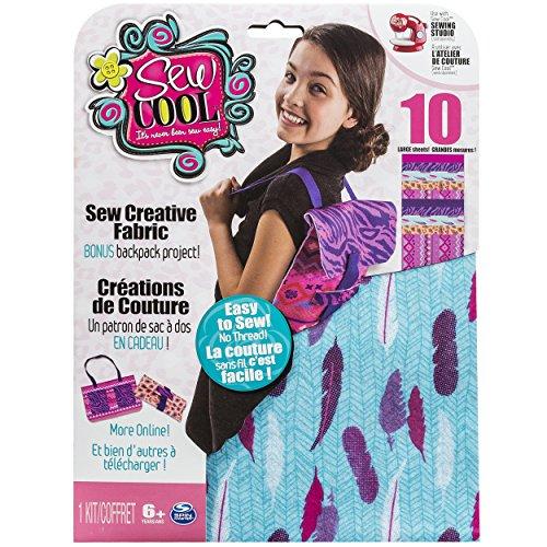 Sew Cool Trendy Fabric Kit and Bonus Backpack Project (Things That Start With J For Kids)