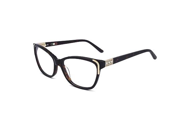 New Fashion Cat Eye Lady Eyeglass Frames With Rhinestones 601r