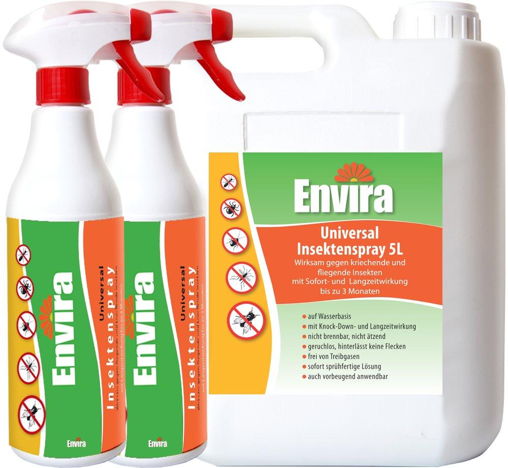 ENVIRA Anti Insektenspray 2x500ml+5Ltr