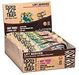 Don't Go Nuts Nut-Free Organic Snack Bars, Lift Service, Fig Based Brownie with White Chocolate, 12 Count