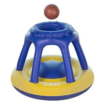 Juego de baloncesto para piscina, juguete hinchable con 1 ...