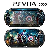 Decorative Video Game Skin Decal Cover Sticker for Sony PlayStation PS Vita Slim (PCH-2000) - Avengers