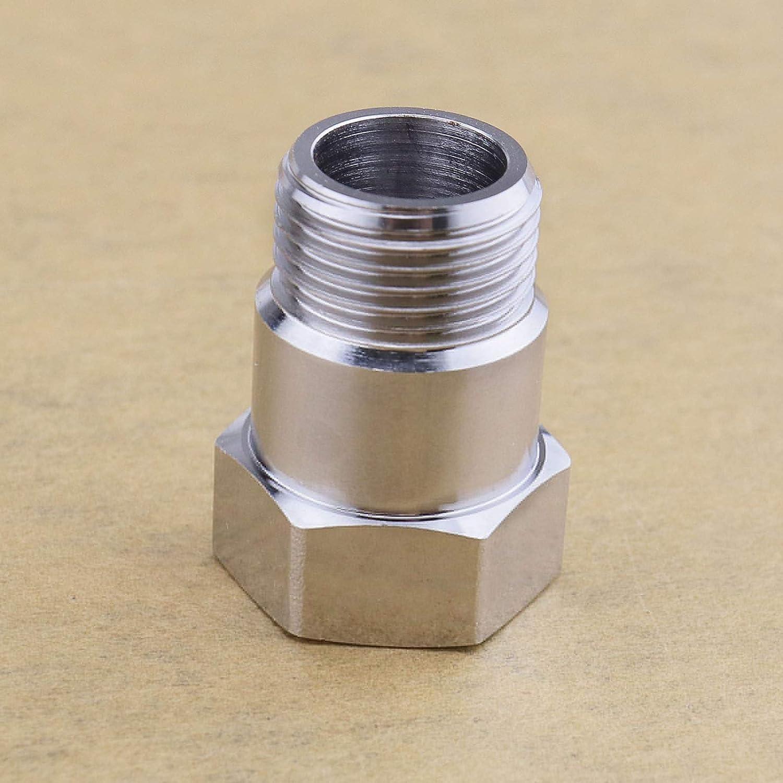 Lot de 2 adaptateurs dextension O2 pour capteur doxyg/ène M18 x 1,5 32 mm