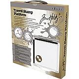 Tim Holtz 2018 Travel Stamp Platform - 1711E - Portable 6.5 x 6.5 Inch Positioning Tool