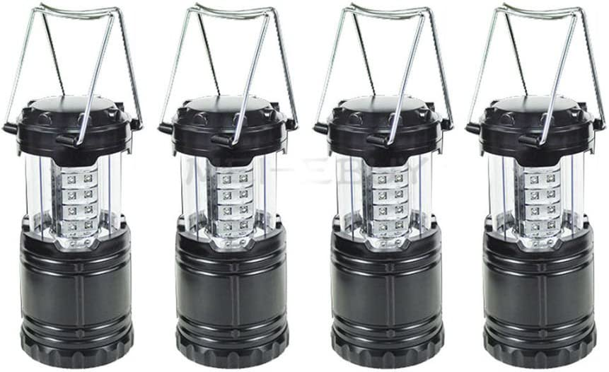 Portable 30 LED Collapsible Camping Lantern Hiking Tent Outdoor Lamp Light