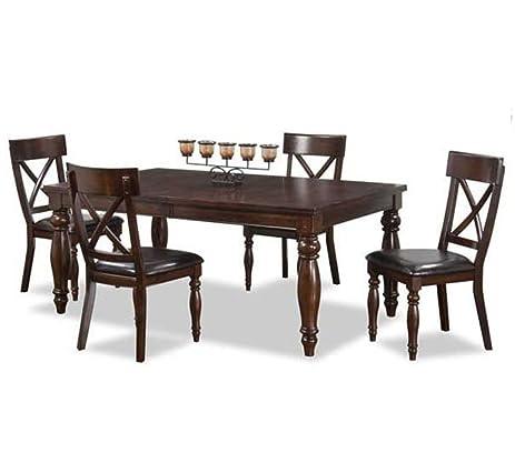 Intercon Kingston 5 Pc Dining Set 42 X 72 90 18quot