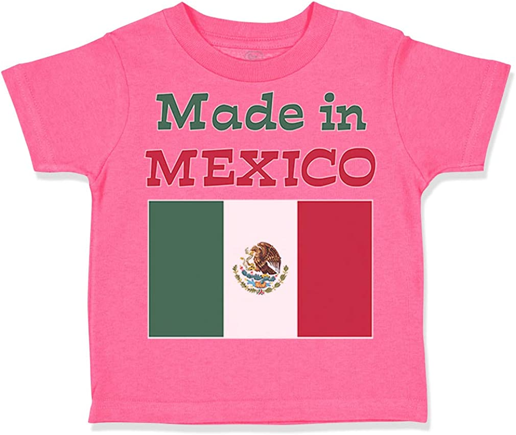 Custom Toddler T-Shirt Made in Mexico Funny Style D Cotton Boy /& Girl Clothes