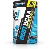 BPI Sports Best BCAA Shredded Powder for Men & Women, Blue Raz, 50 Servings