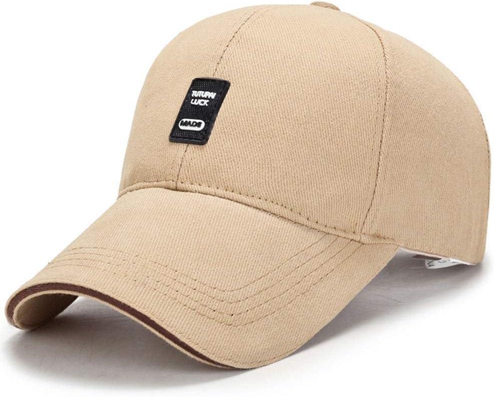 CACUSS Gorra Militar de algod/ón para Hombres Sombrero cadete Gorra de b/éisbol Ajustable Militar Plana Superior