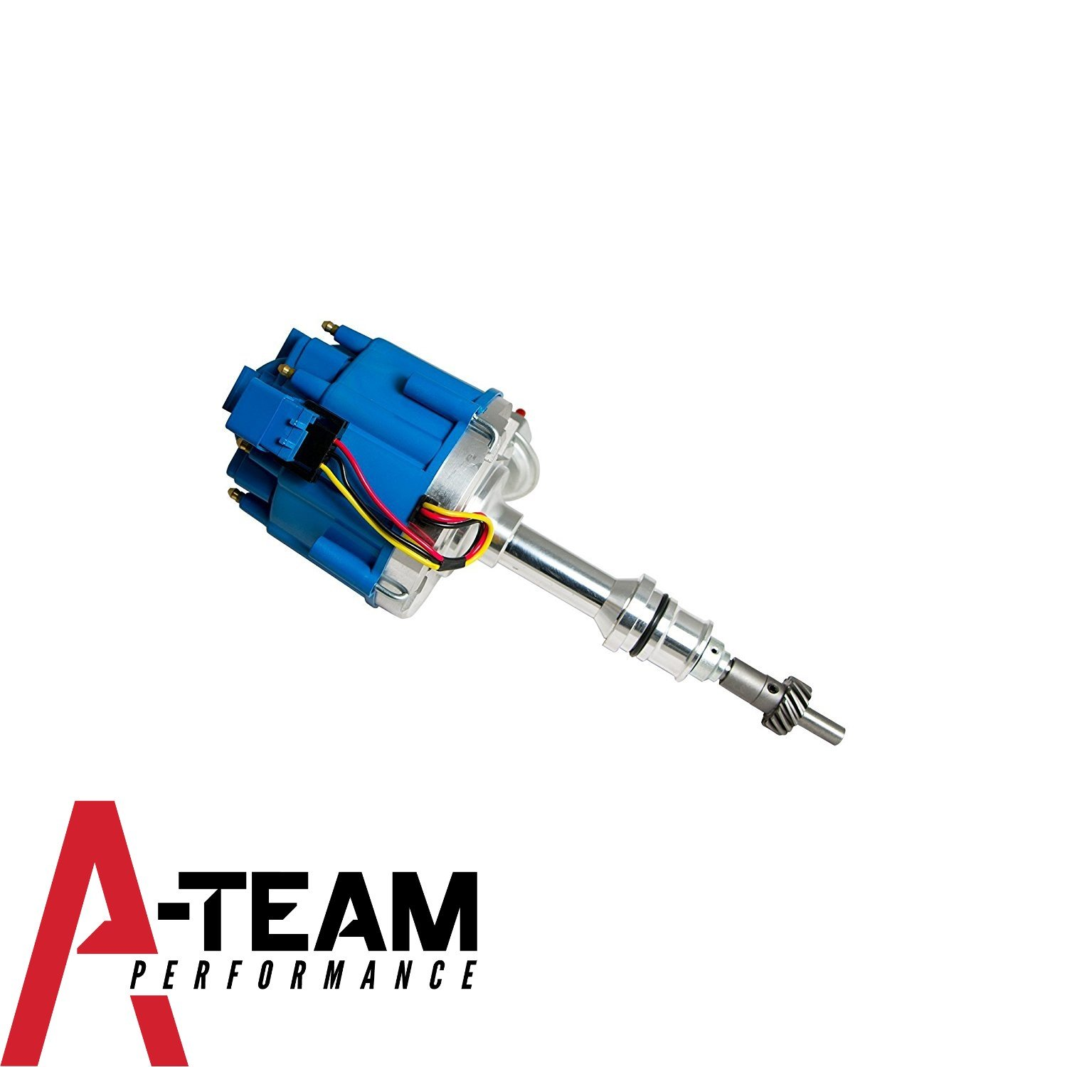Amazon.com: A-Team Performance Small Block Ford 65K COIL HEI Complete  Distributor 260 289 302 5.0 1-Wire Instillation: Automotive