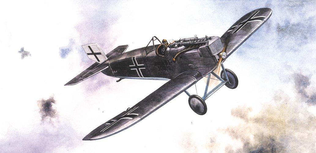 Roden 041 - Junkers D.1, 40 Pezzi