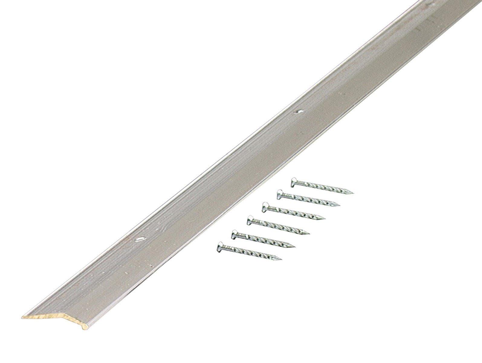M-D 66472 1-1/2'' X 72'' Aluminum Floor & Carpet Trim