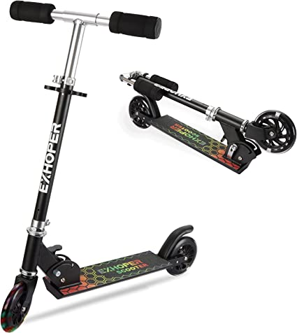 Details about  /Folding Electric Scooter Adult Kids Built In Rechargeable Battery Portable NEW
