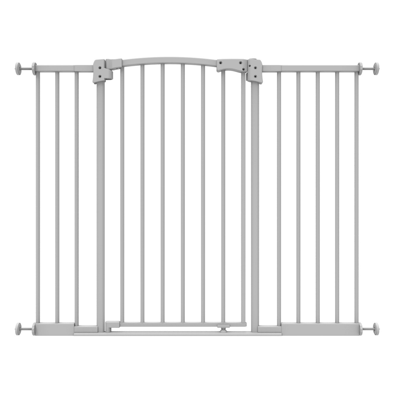 Perma Safe Step Baby Gate, Pressure Mounted, Extra Wide & Extra Tall, White