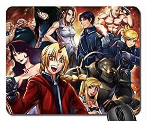 Full Metal Alchemist Mouse Pad, Mousepad (10.2 x 8.3 x 0.12 inches)