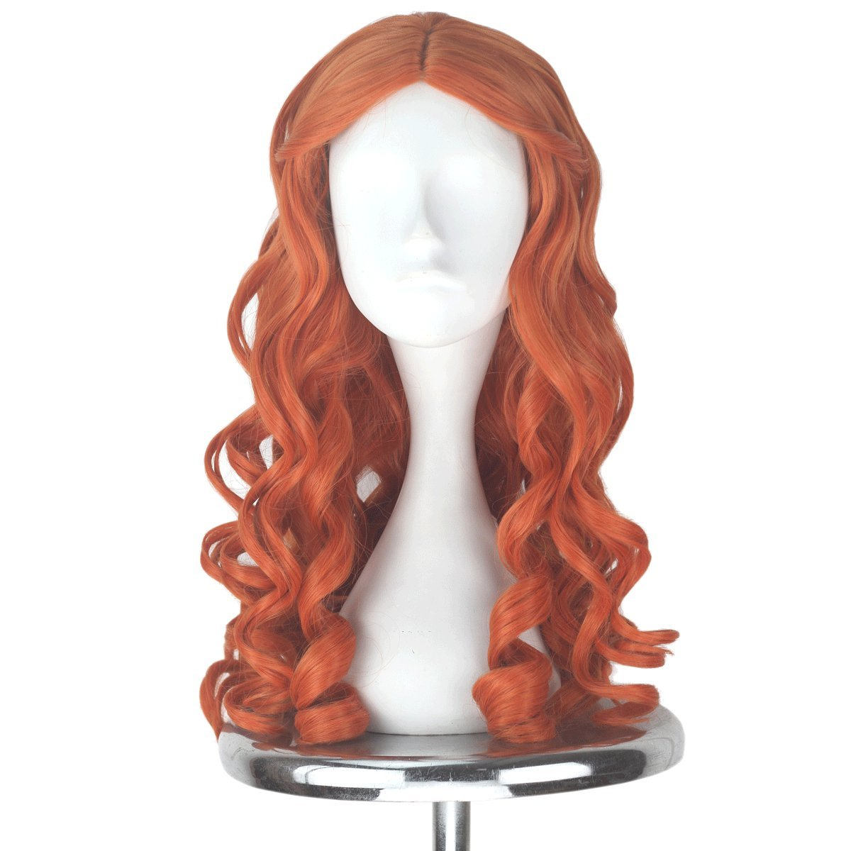 Synthetic Wigs Shop For Cheap Miss U Hair Women Girl Child Adult Synthetic Prestyled Long Wavy Brown Hair Cosplay Costume Wig For Halloween
