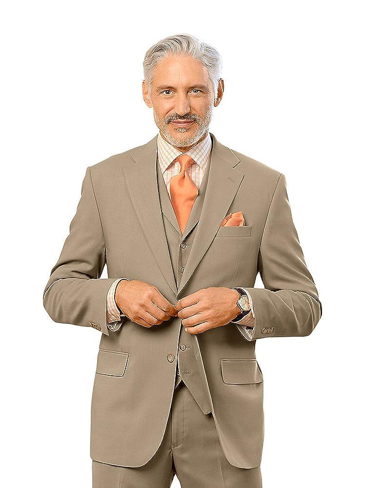 Paul Fredrick Men's Wool Notch Lapel Suit Jacket RMH110J000000
