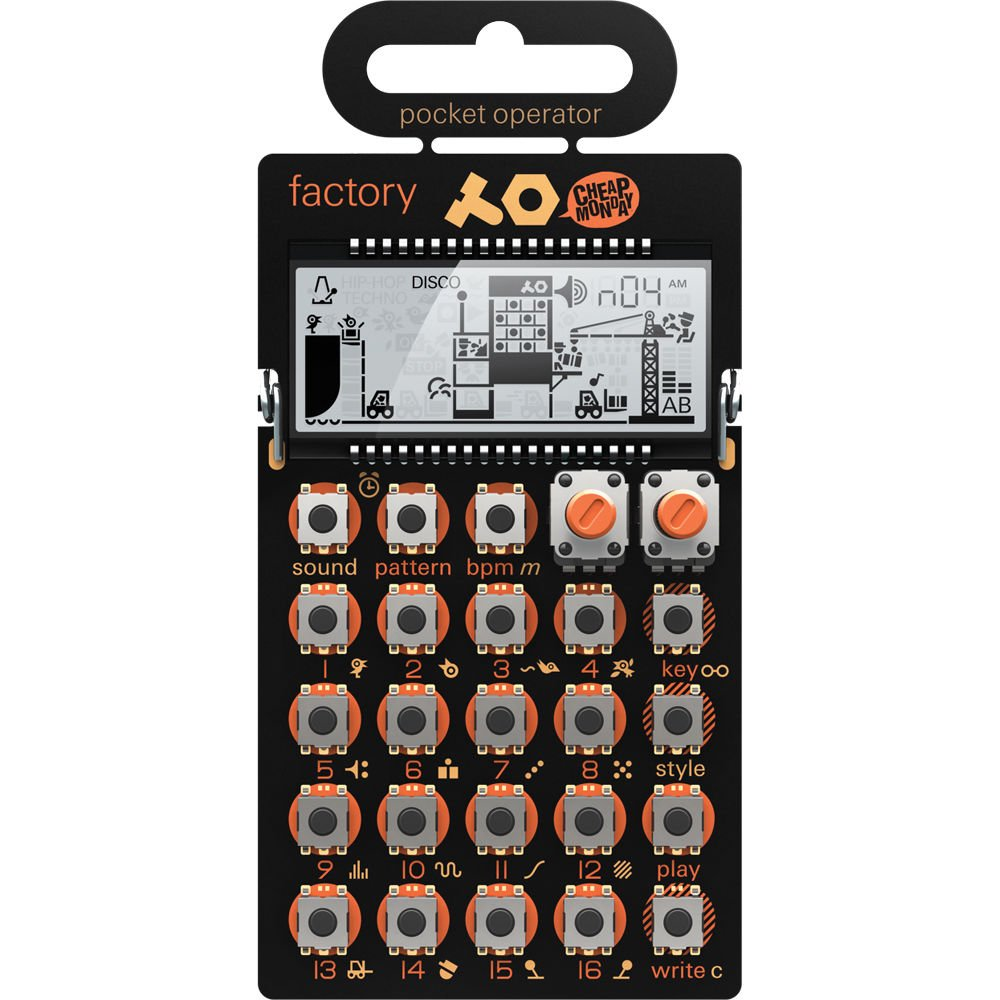 Teenage Engineering PO-12 Rhythm, PO-14 Sub & PO-16 Factory Packagewith 1 Year Free Extended Warranty by Teenage Engineering