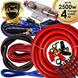 Best Amp Wiring Kits - Complete 2500W Gravity 4 Gauge Amplifier Installation Wiring Review