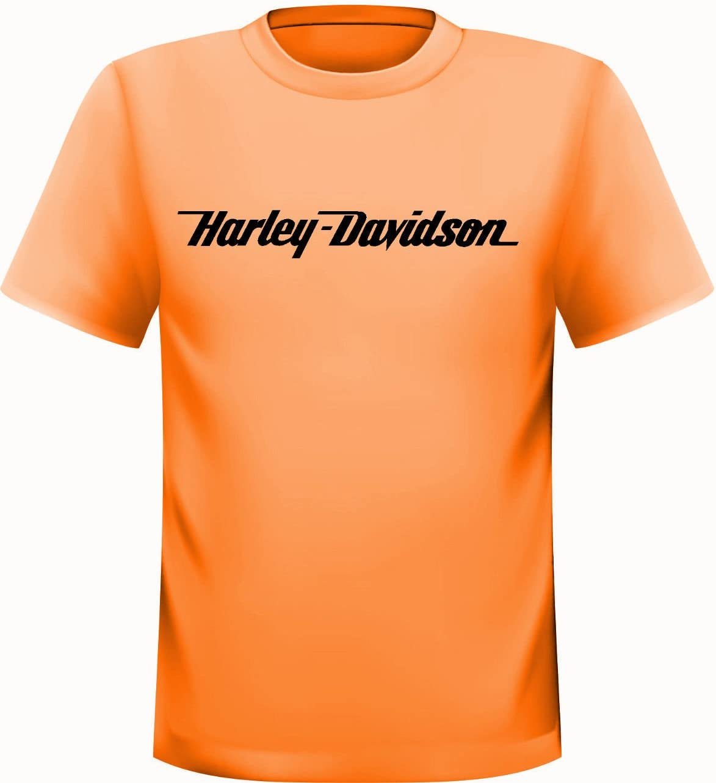 Harley Davidson Camiseta de naranja, naranja: Amazon.es: Deportes y aire libre