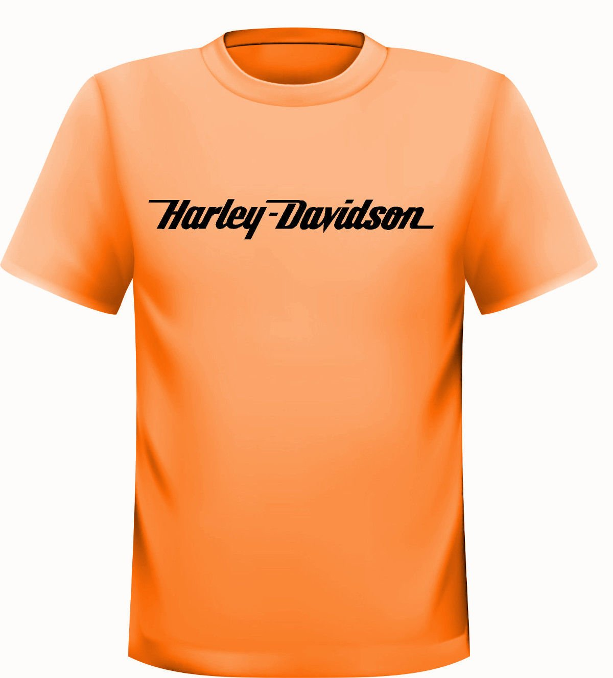 Harley Davidson Camiseta de naranja Streetwall