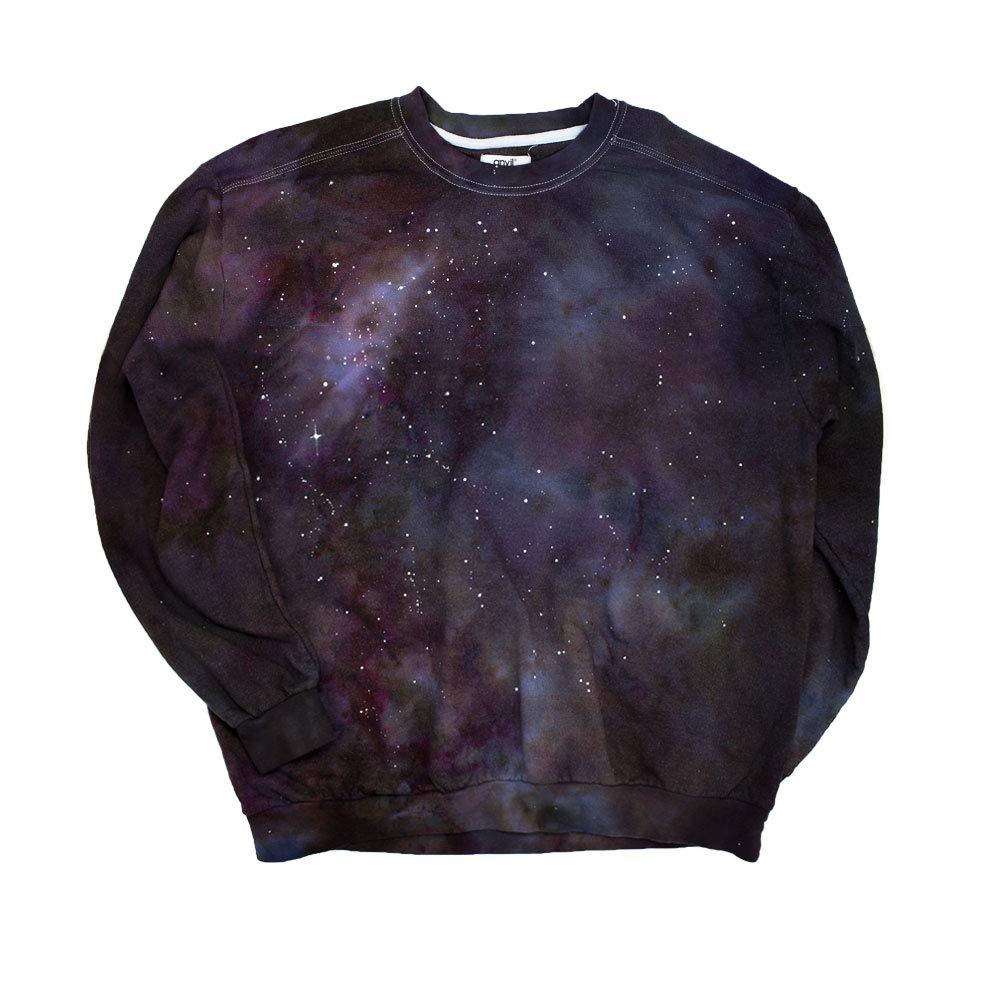 New Galaxy Tie Dye Sweatshirt Unisex by Masha Apparel