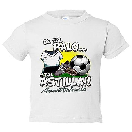 Camiseta niño De tal palo tal astilla Valencia fútbol ...