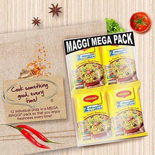 Maggi 2-Minute Noodles Masala, 70g (Pack of 12) 6