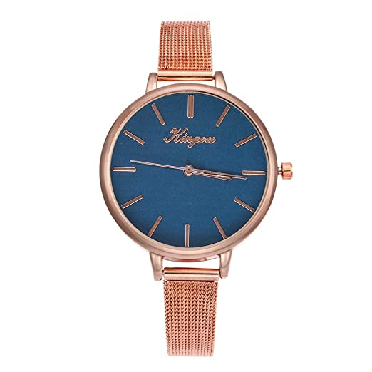 POJIETT Relojes Mujer Moda Reloj Pulsera Actividad Reloj Analógico de Cuarzo Acero Inoxidable Relojes para Mujer Joyas Regalos para Mujer Reloj Negro: ...