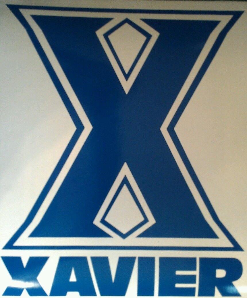XAVIER Cornhole Board Decals and 2 Cornhole Hole Decals