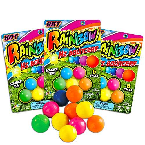 Bouncy Balls for Kids — 15 Small Bulk
