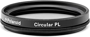 Polaroid Optics 52mm Multi-Coated Circular Polarizer Filter [CPL] For 'On Location' Color Saturation, Contrast & Reflection Control– Compatible w/ All Popular Camera Lens Models