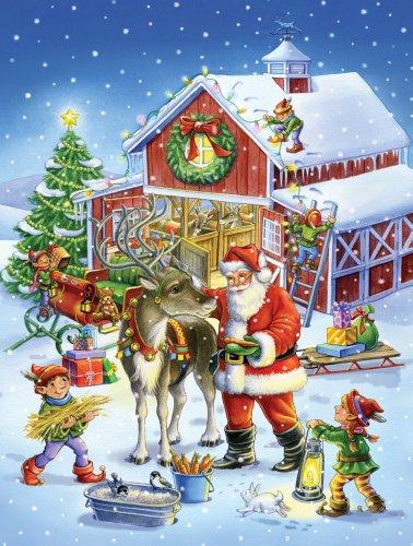 Ready Reindeer Jigsaw Puzzle 550 Piece