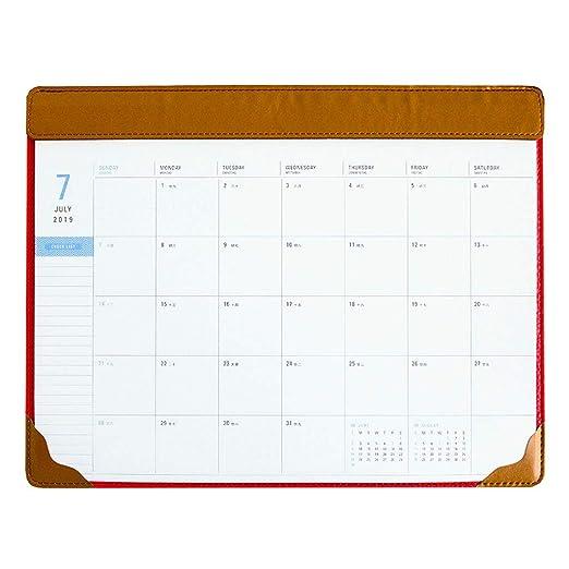 WPCBAA Calendario de Escritorio 2020 Año Creativo de la PU El ...